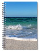 The Crab And The Sea Spiral Notebook
