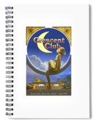 The Crescent Club, Siesta Key Spiral Notebook