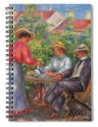 The Cup Of Tea, Or The Garden Spiral Notebook