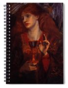 The Damsel Of The Sanct Grail Spiral Notebook