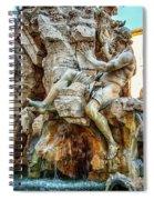 The Danube Spiral Notebook