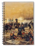 The Defense Of Champigny  Spiral Notebook