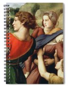 The Deposition, Detail, 1507 Spiral Notebook