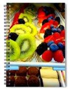 The Dessert Trays Spiral Notebook