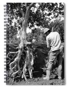 The Dig Replants A Tree Spiral Notebook