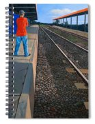 The Distance Of Solitude Spiral Notebook