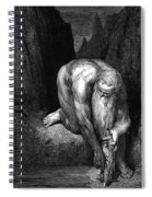 The Divine Comedy, By Dante The Giant Antaeus Spiral Notebook