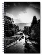 The Dog Walkers Spiral Notebook