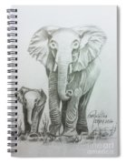 The Elephant Spiral Notebook
