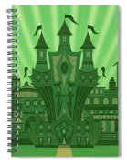 The Emerald City Spiral Notebook