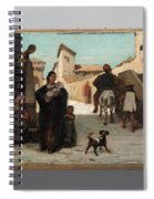The Fable Of The Miller  His Son  And The Donkey  Spiral Notebook