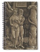 The Fall Of Mankind, 1511  Spiral Notebook