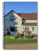 The Farm House Spiral Notebook