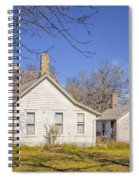 The Farmhouse, Washhouse And Garage Spiral Notebook