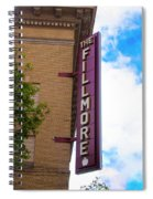The Fillmore West - San Francisco Spiral Notebook