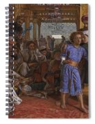 The Finding Of The Savior At The Temple Spiral Notebook