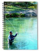 The Fisherman Spiral Notebook