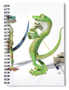 The Fishing Tale Spiral Notebook