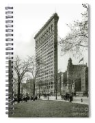 The Flatiron Building 1903 Spiral Notebook