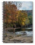 The Flyfisherman Spiral Notebook