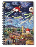 The Flying Mariachis Spiral Notebook