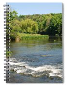 the ford at Etal on river Till Spiral Notebook