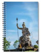 The Fountain Of Rometta Spiral Notebook