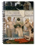 The Fountain Of Youth Spiral Notebook
