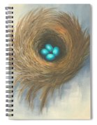 The Four Sisters Spiral Notebook