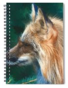 The Fox 235 - Painting Spiral Notebook