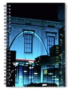 The Gateway Arch And The City Spiral Notebook