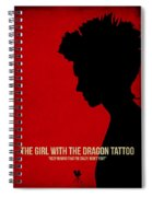 The Girl With A Dragon Tattoo Spiral Notebook