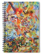 The Giving Of The Torah Spiral Notebook