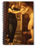 The Godhead Fires Pygmalion 1870 Spiral Notebook