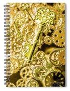 The Golden Ratio Spiral Notebook
