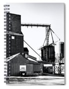The Grain Elevator Spiral Notebook