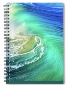 The Great Wave Spiral Notebook