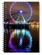 The Great Wheel Spiral Notebook