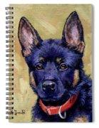 The Guard Dog Spiral Notebook