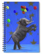 The Happiest Elephant Spiral Notebook