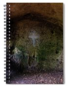 The Hermit's Cross Spiral Notebook