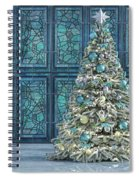 The Hoping Holiday Frog Spiral Notebook