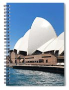 The Iconic Sydney Opera House.  Spiral Notebook