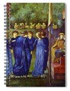 The King Wedding 1870 Spiral Notebook