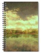The Lake - Panorama Spiral Notebook