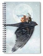 The Light Bird Spiral Notebook