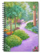The Lilac Path - Rest Awhile Spiral Notebook