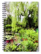 The Lily Pond Trail Spiral Notebook