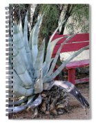 The Little Red Bench Spiral Notebook