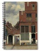 The Little Street, 1658 Spiral Notebook